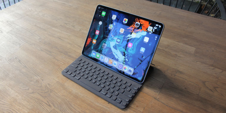 2018 ipad pro review what s a computer ars technica. Black Bedroom Furniture Sets. Home Design Ideas