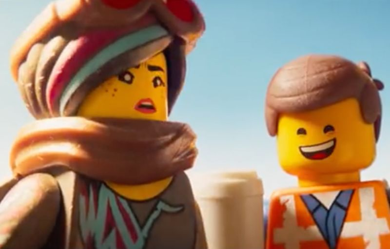 Elizabeth Banks as Lucy (aka Wyldstyle) and Chris Pratt as Emmett are back to take on LEGO DUPLO invaders from outer space in <em>The LEGO Movie 2: The Second Part.</em>