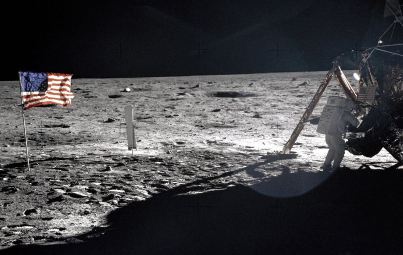 On July 20, 1969, NASA astronaut Neil Armstrong became the first man to walk on the Moon.