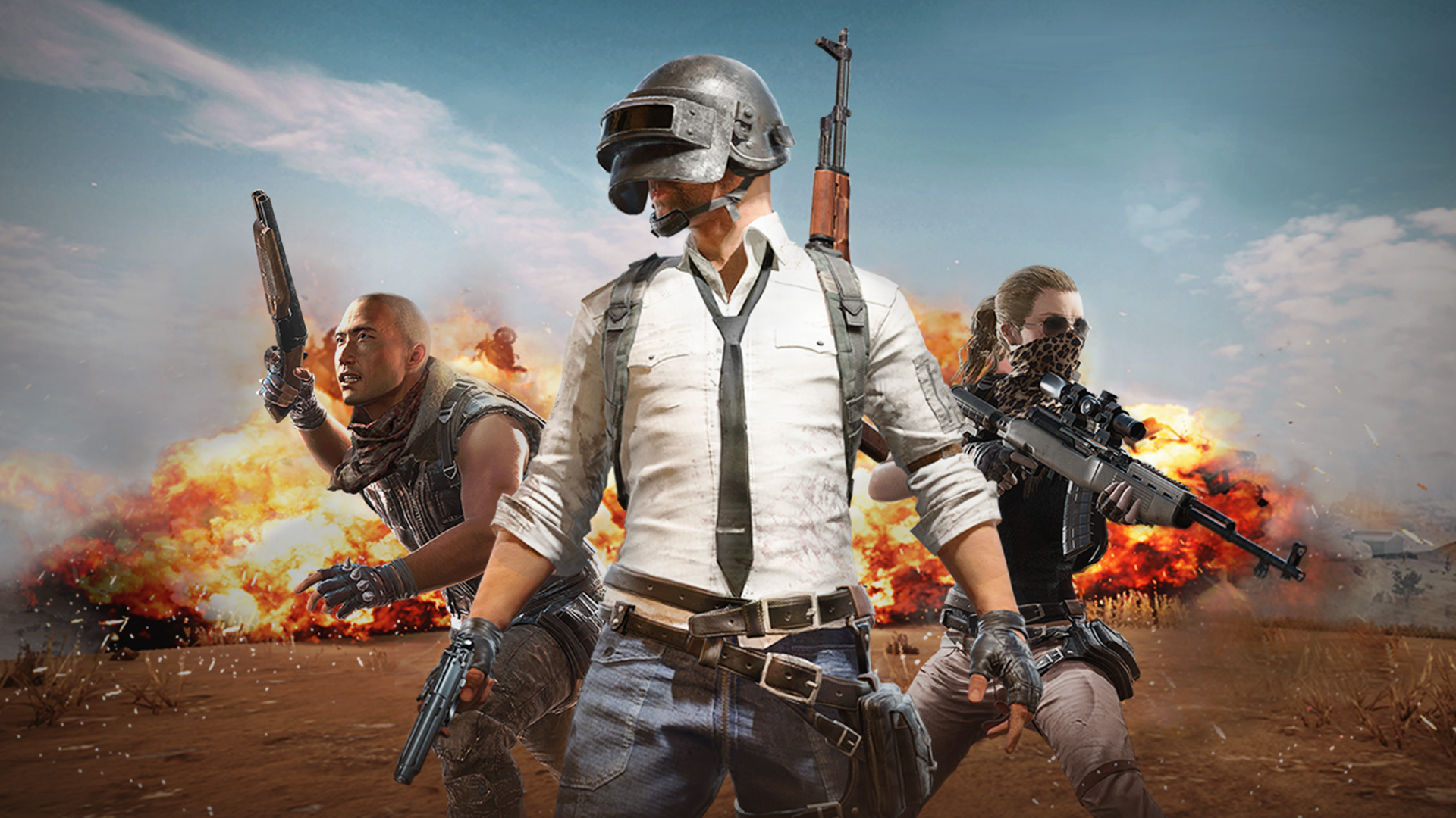 "This image, along with one with a more obvious ""PlayerUnknown's Battlegrounds"" logo, is still live at Sony's official PlayStation.net servers, linked specifically to the logo codes that are normally assigned for retail games. PUBG has not yet been announced for PS4."