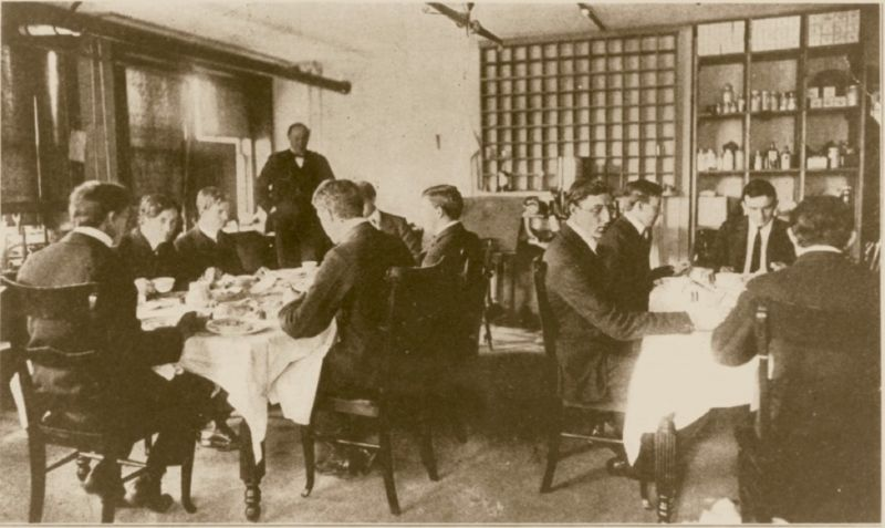 """Members of Harvey Washington Wiley's """"poison squad"""" voluntarily dined on borax and formaldehyde to test the safety of these once-common food preservatives."""