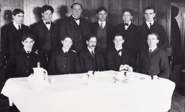 """""""Only the brave dare eat the fare"""": the intrepid members of Wiley's Poison Squad."""