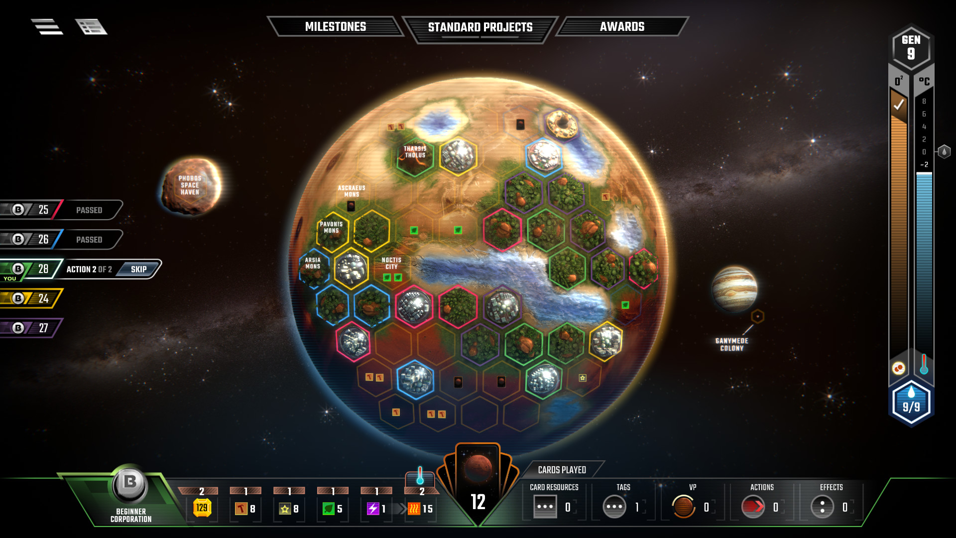 terraforming mars  Review: Super-hot board game Terraforming Mars goes digital | Ars ...