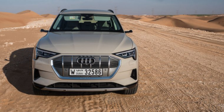 We've driven Audi's first proper electric car, the 2019 e