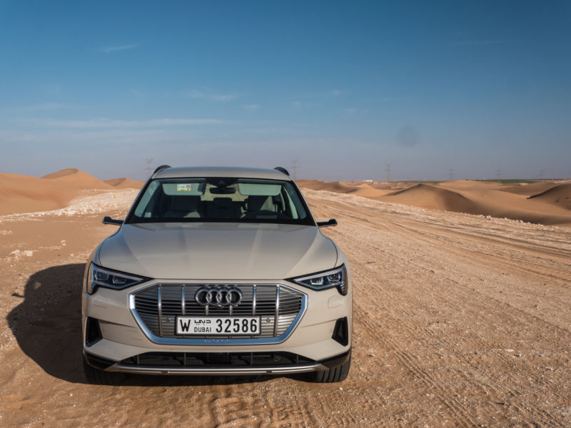 We've driven Audi's first proper electric car, the 2019 e-tron SUV