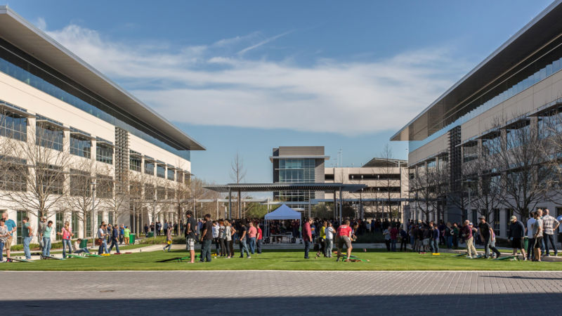 Apple's existing campus in Austin, Texas.