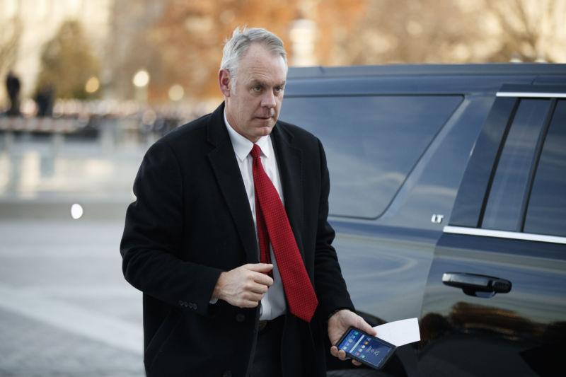 Trump Will Replace Interior Department Secretary Next Week Ars