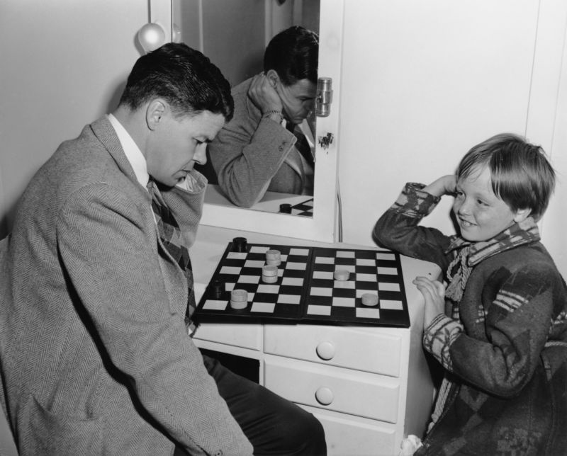 """Gaming, circa 1946, may have been easier for older players when compared to present-day rounds of <em>Fortnite</em>.""""></p> <p style="""