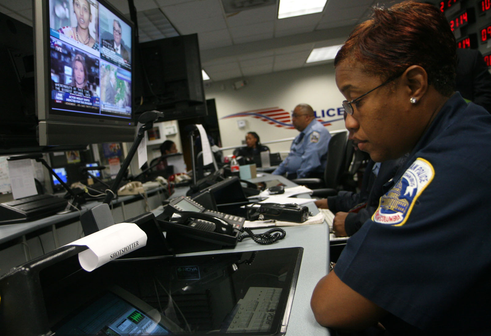 Washington, DC, police operate ShotSpotter, which uses highly sophisticated microphones to detect the sound of gunshots and send a signal to dispatchers.