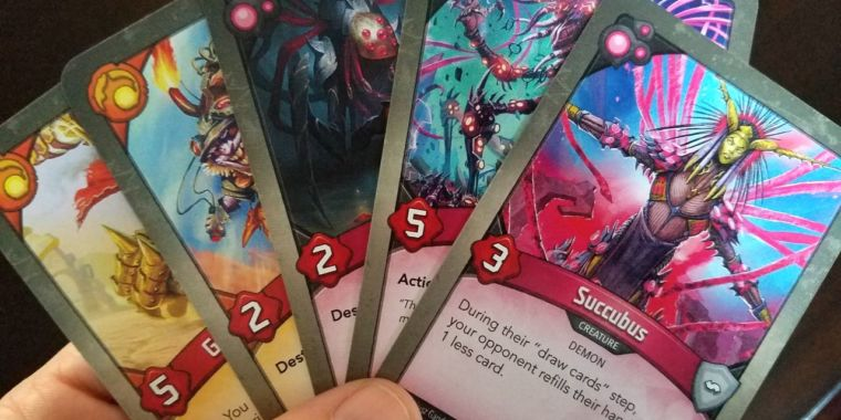 KeyForge: The red-hot card game where every deck is unique—and unchangeable