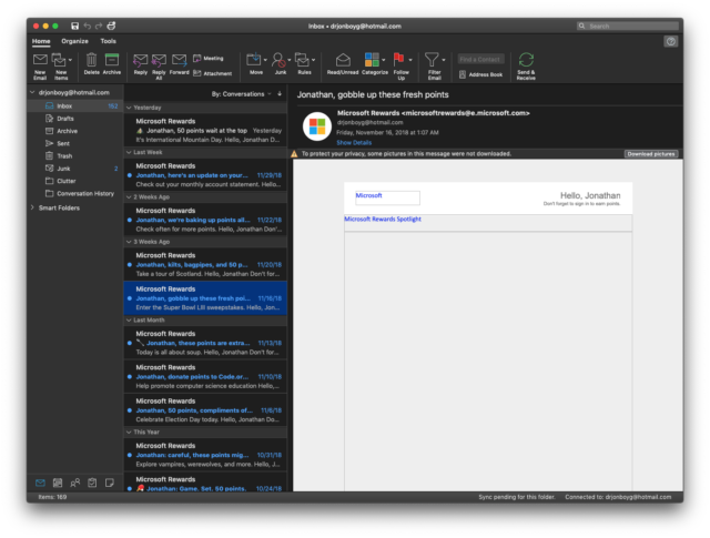 Microsoft adds Dark Mode support and more to Office 365 for Mac