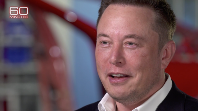 "Elon Musk on 60 Minutes: ""I do not respect the SEC"""