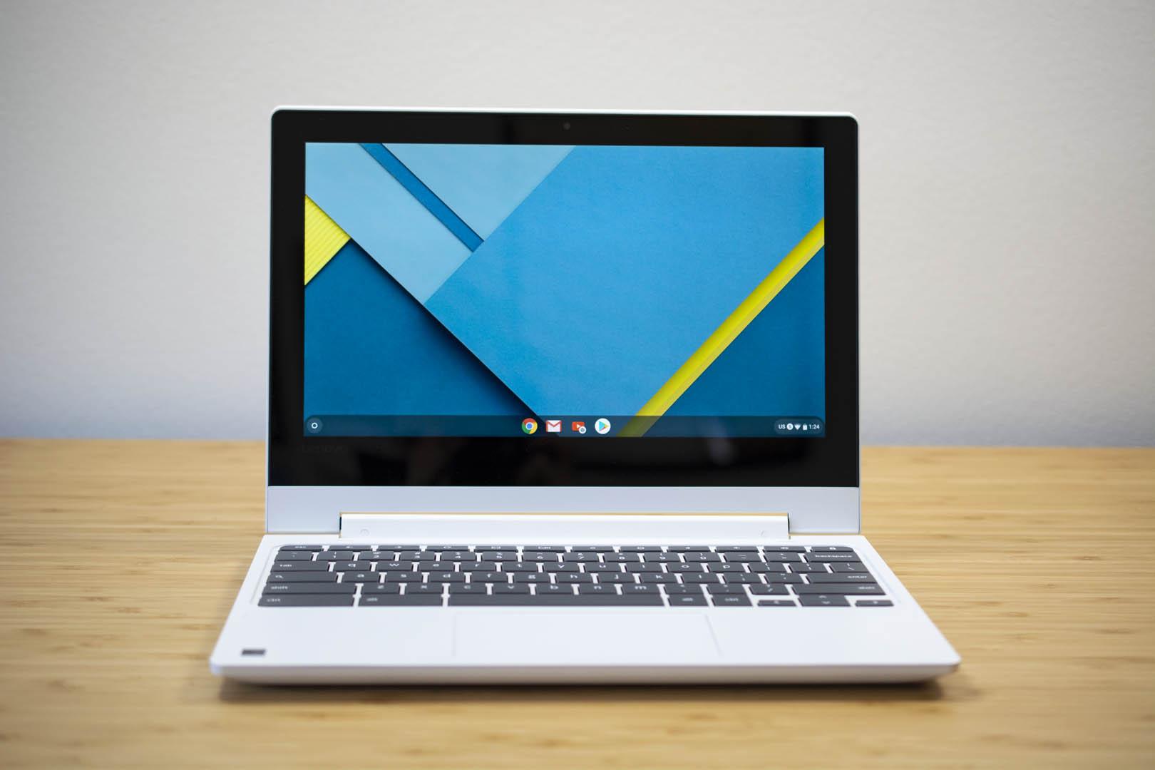 The Lenovo Chromebook C330.
