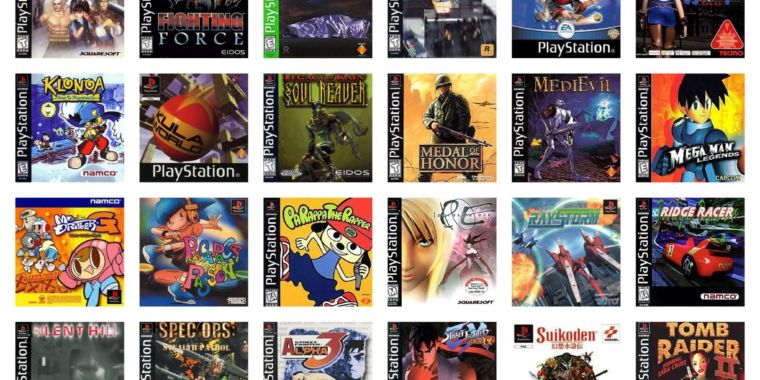 PlayStation One Games | List of All PS 1 Console Games