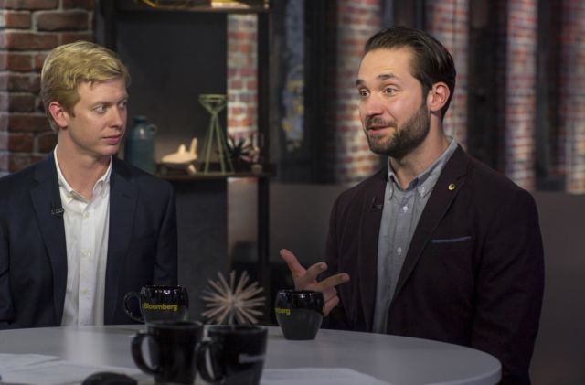 Reddit co-founder Steve Huffman during an August 2016 appearance on Bloomberg West TV.