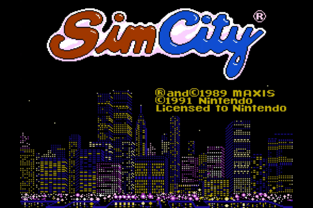 You Can Now Download The Long Lost And Unfinished Simcity Nes