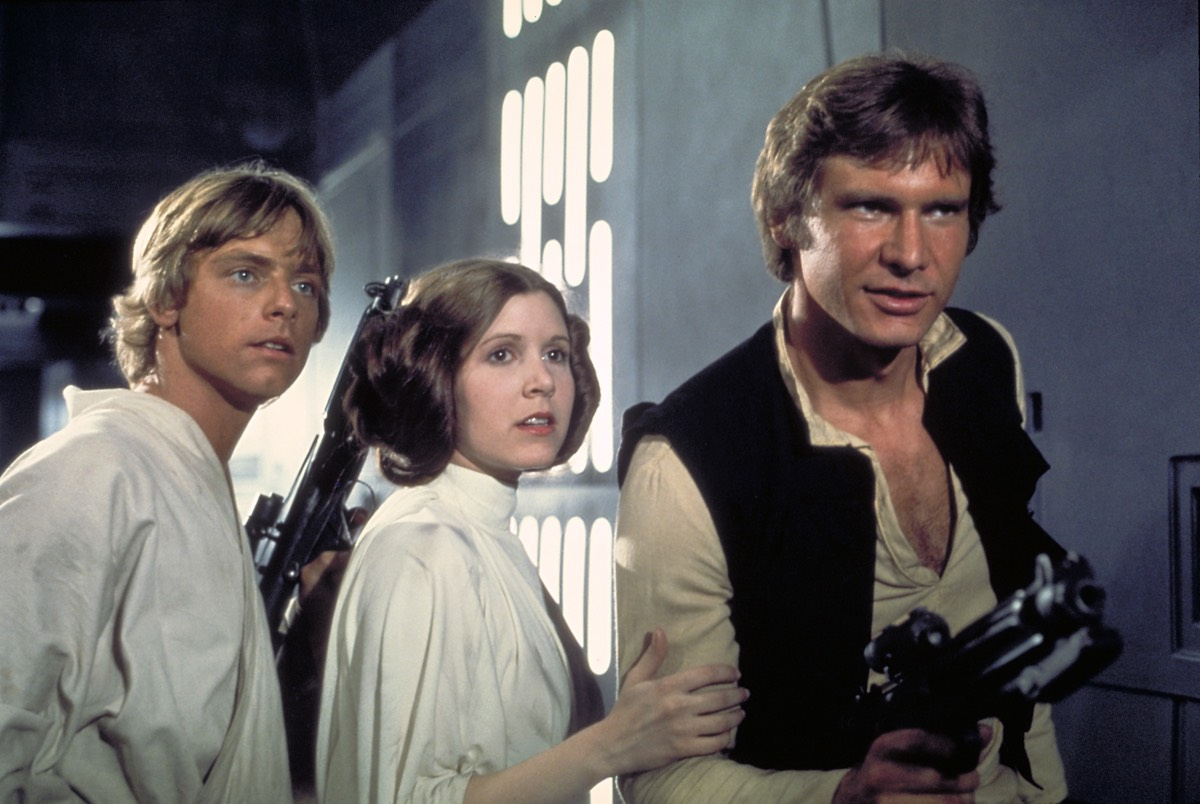 <em>Star Wars: A New Hope</em> (1977) is the second most influential film of all time, per a new analysis.