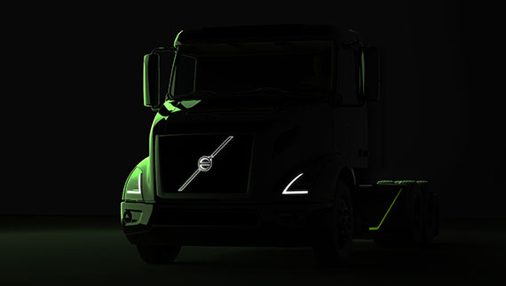 Volvo's Coming All-electric Semi will Compete with Tesla's