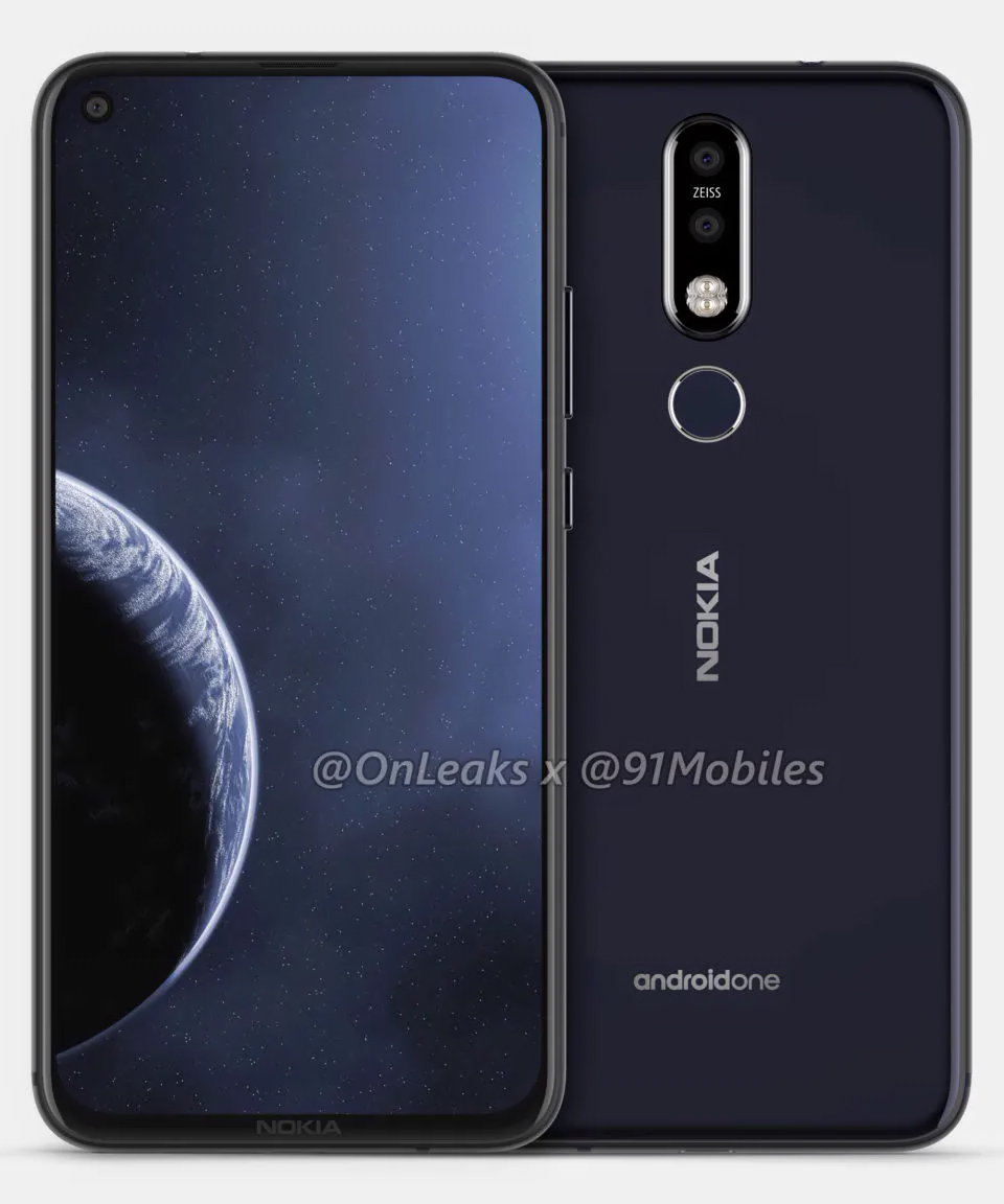 16 - Nokia 8.1 Plus is the company's most modern-looking phone yet