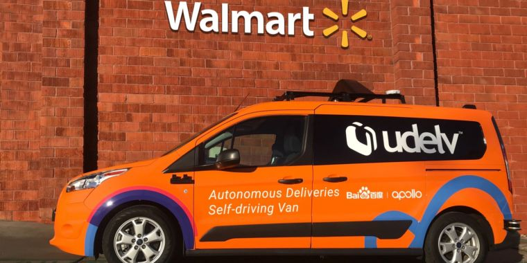 Walmart Trials New Self-driving Delivery Service in Arizona