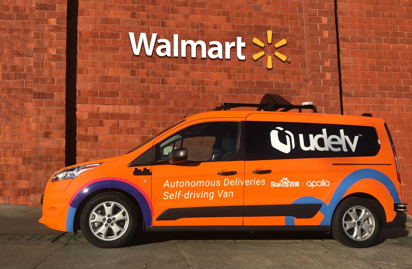 Walmart Trials New Self Driving Delivery Service In Arizona