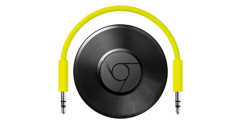 Google discontinues Chromecast Audio