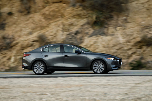 The all-new 2019 Mazda 3 punches far above its weight for