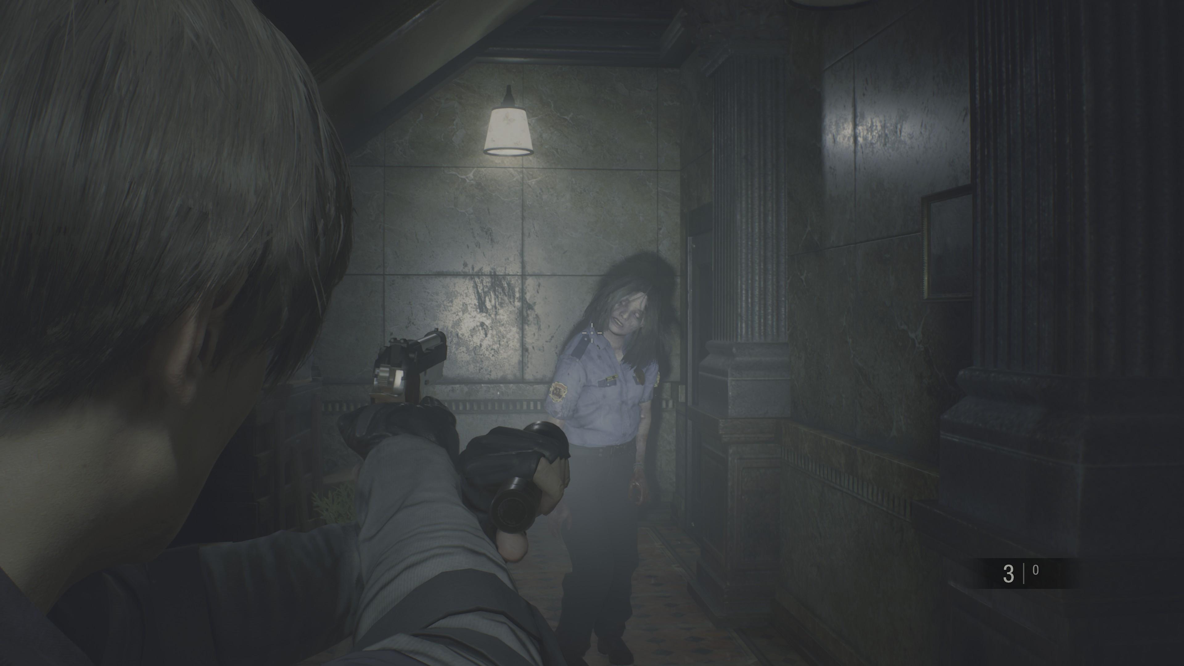 The <em>Resident Evil 2</em> remake.