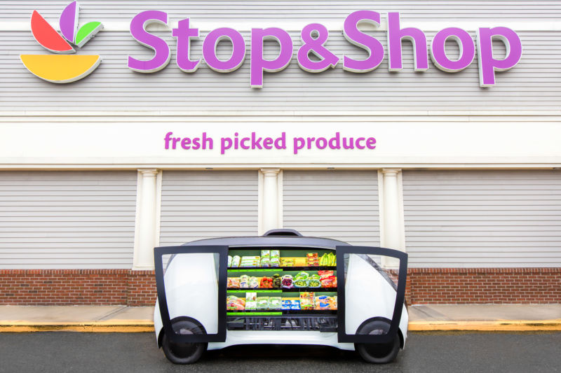 "Stop and Shop grocery chain to begin offering ""store on wheels"" service"
