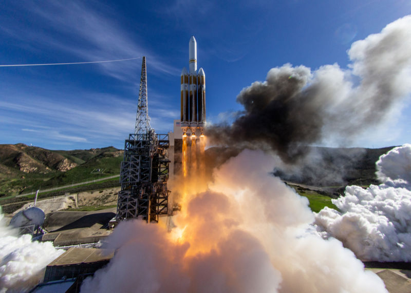 The Delta IV Heavy is the world's second-most powerful rocket.