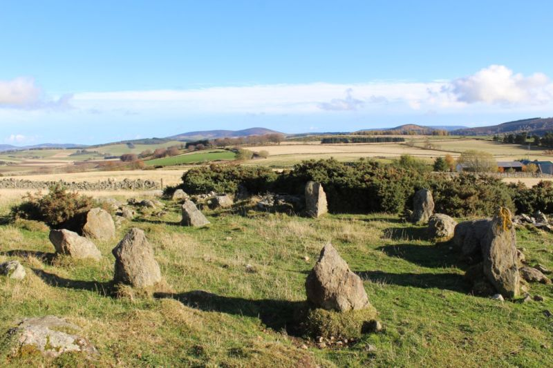 Scottish stone circle isn't so ancient after all, archaeologists say