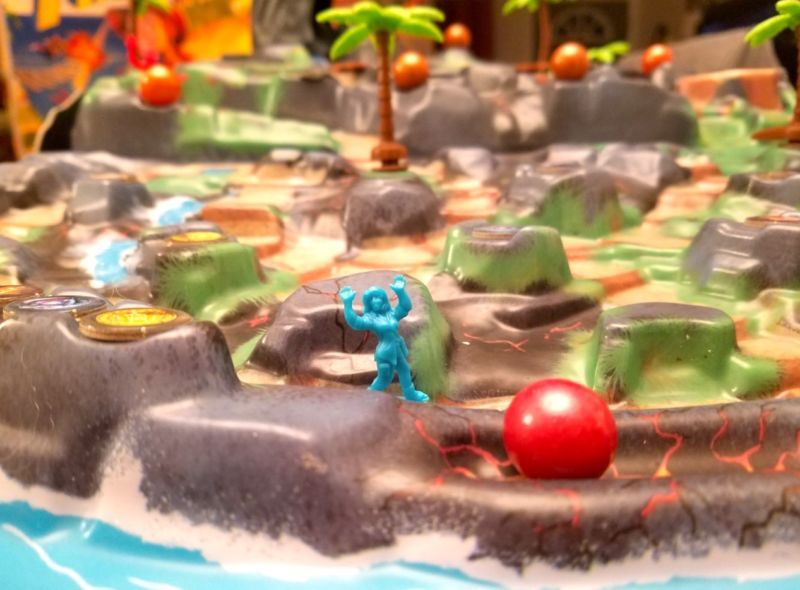 Programming aspects are all over boardgames these days, even on <em>Fireball Island</em>.