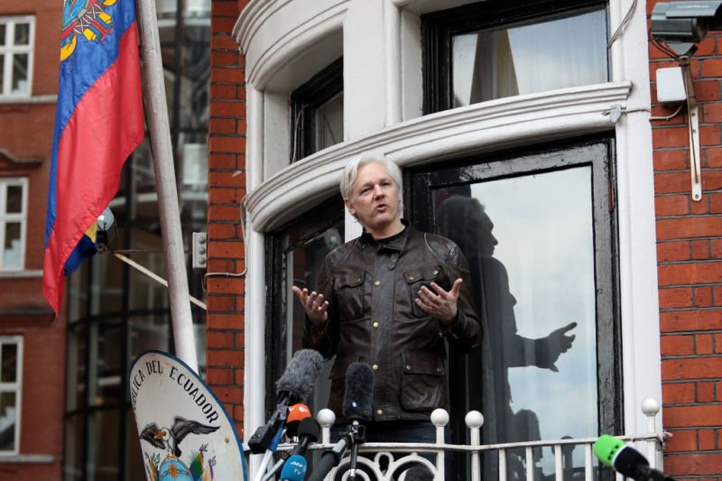 You absolutely cannot say these 140 things about Julian Assange, according to bastion of the free press WikiLeaks.
