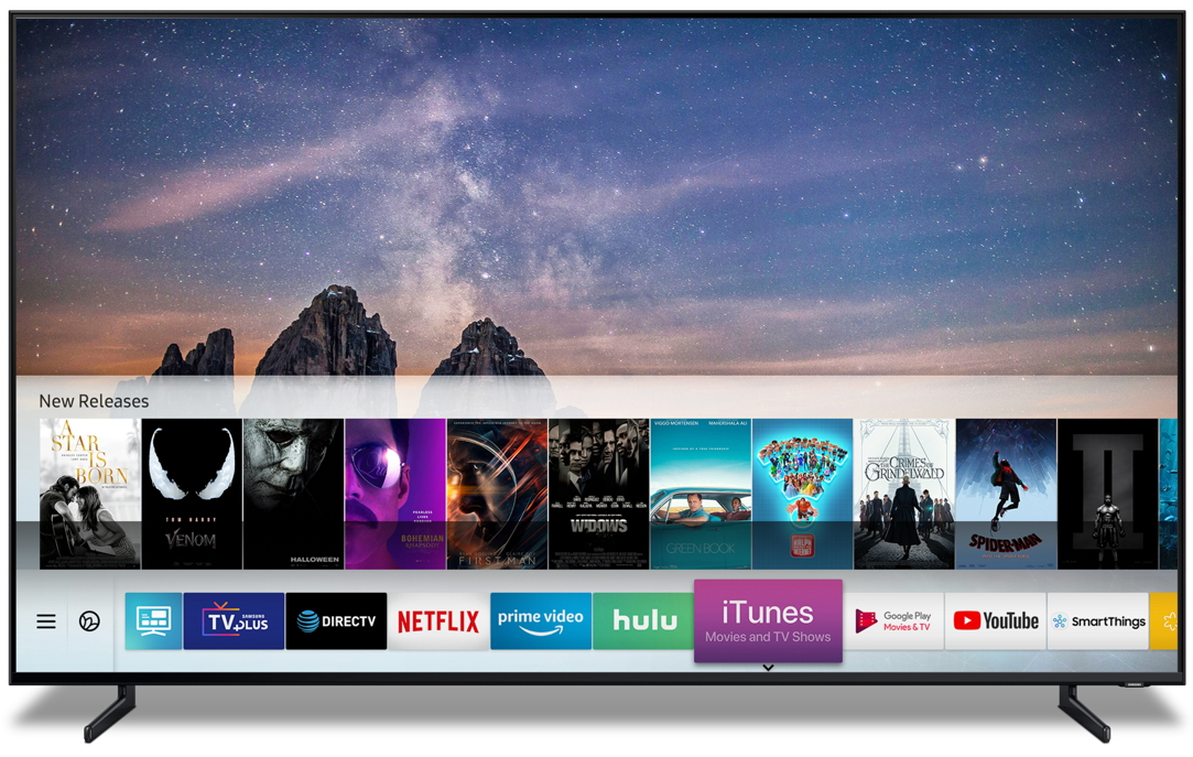 New Samsung Smart TVs will soon have iTunes built in