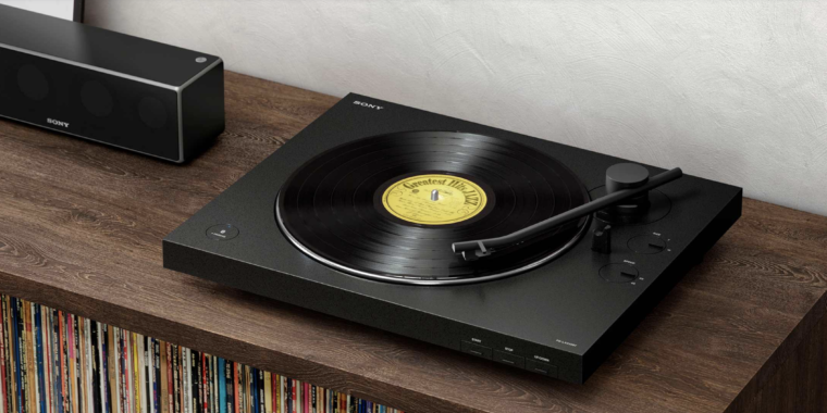 Old, meet new: Sony introduces a wireless turntable for vinyl records
