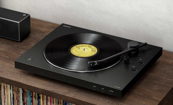 Sony's wireless record player.