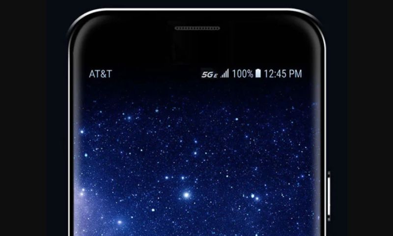 A smartphone with AT&T's