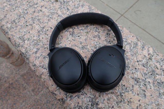 Bose's QuietComfort 35 II wireless noise-cancelling headphones.