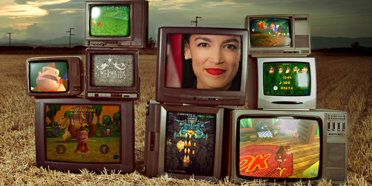Alexandria Ocasio-Cortez, video games, and the new online town square
