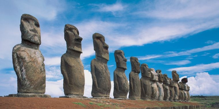 """New study challenges popular """"collapse"""" hypothesis for Easter Island thumbnail"""
