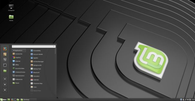Cinnamon 4.0's old look in Linux Mint 19.1—that familiar look is just a click away.