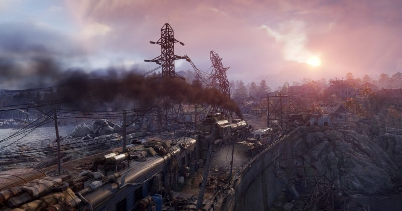 A screen from <em>Metro: Exodus</em> or an artist's conception of Steam's future storefront if there trends continue?