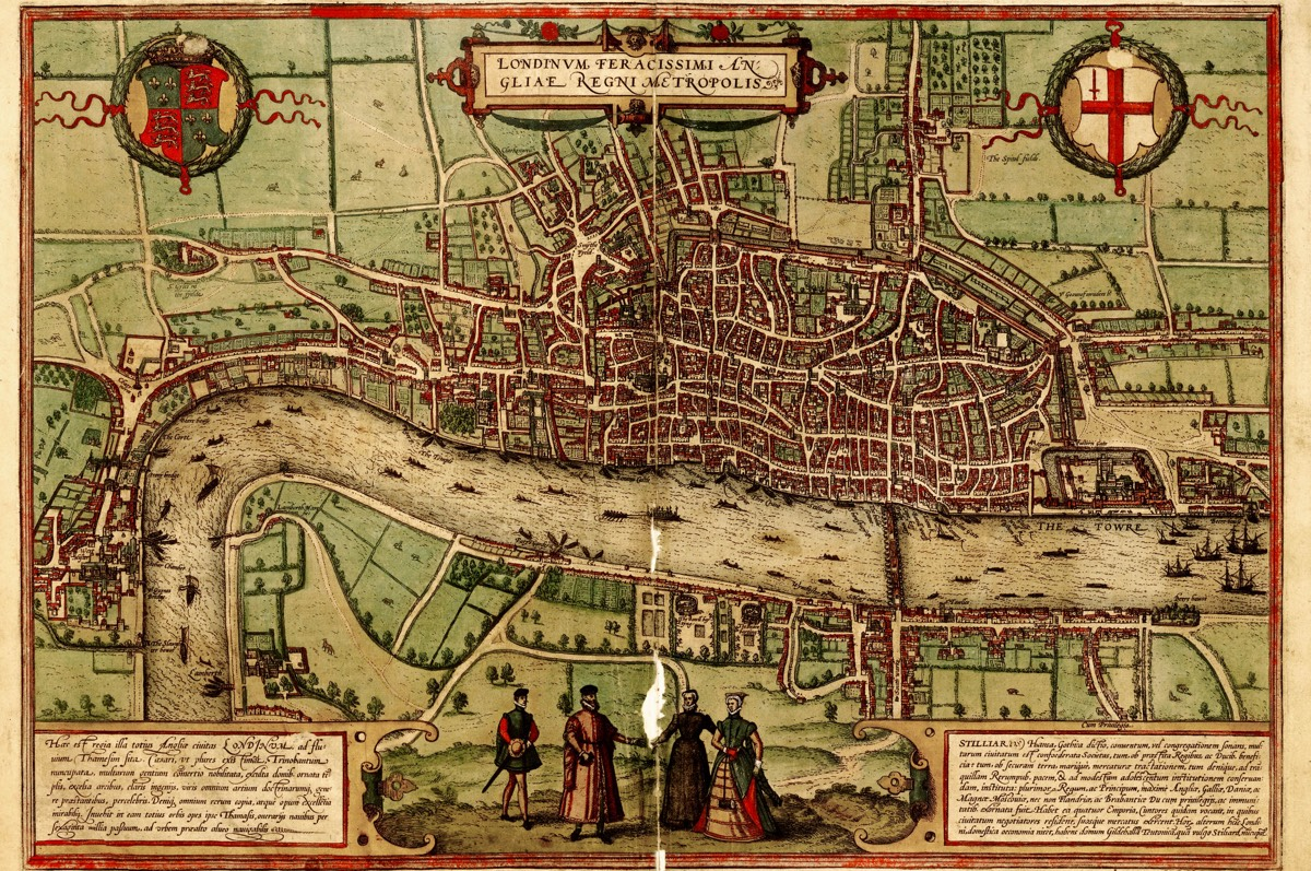 Interactive Map Of London.Lose Yourself In This Highly Addictive Murder Map Of Medieval