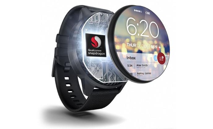 A Qualcomm watch.