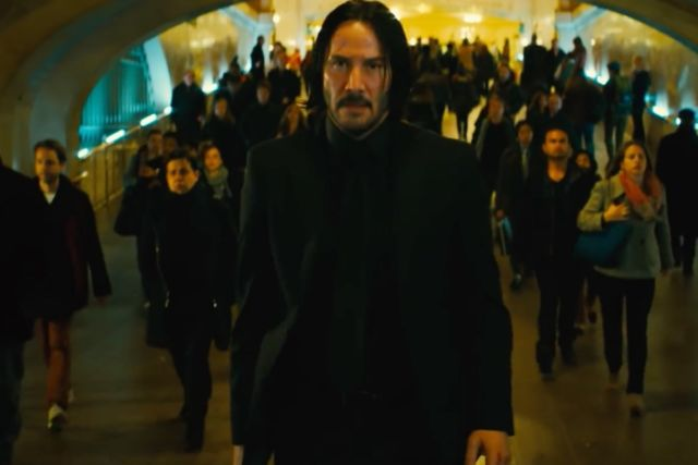Here's the action-packed first trailer for John Wick: Chapter 3