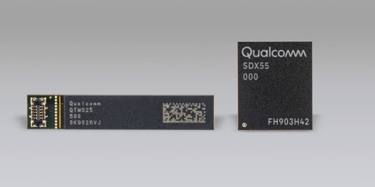 Qualcomm is already announcing next year's 5G chips: Meet the Snapdragon X55 - Ars Technica