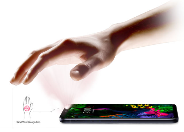 """Forget Face ID, the LG G8 comes with palm-reading """"Hand ID"""