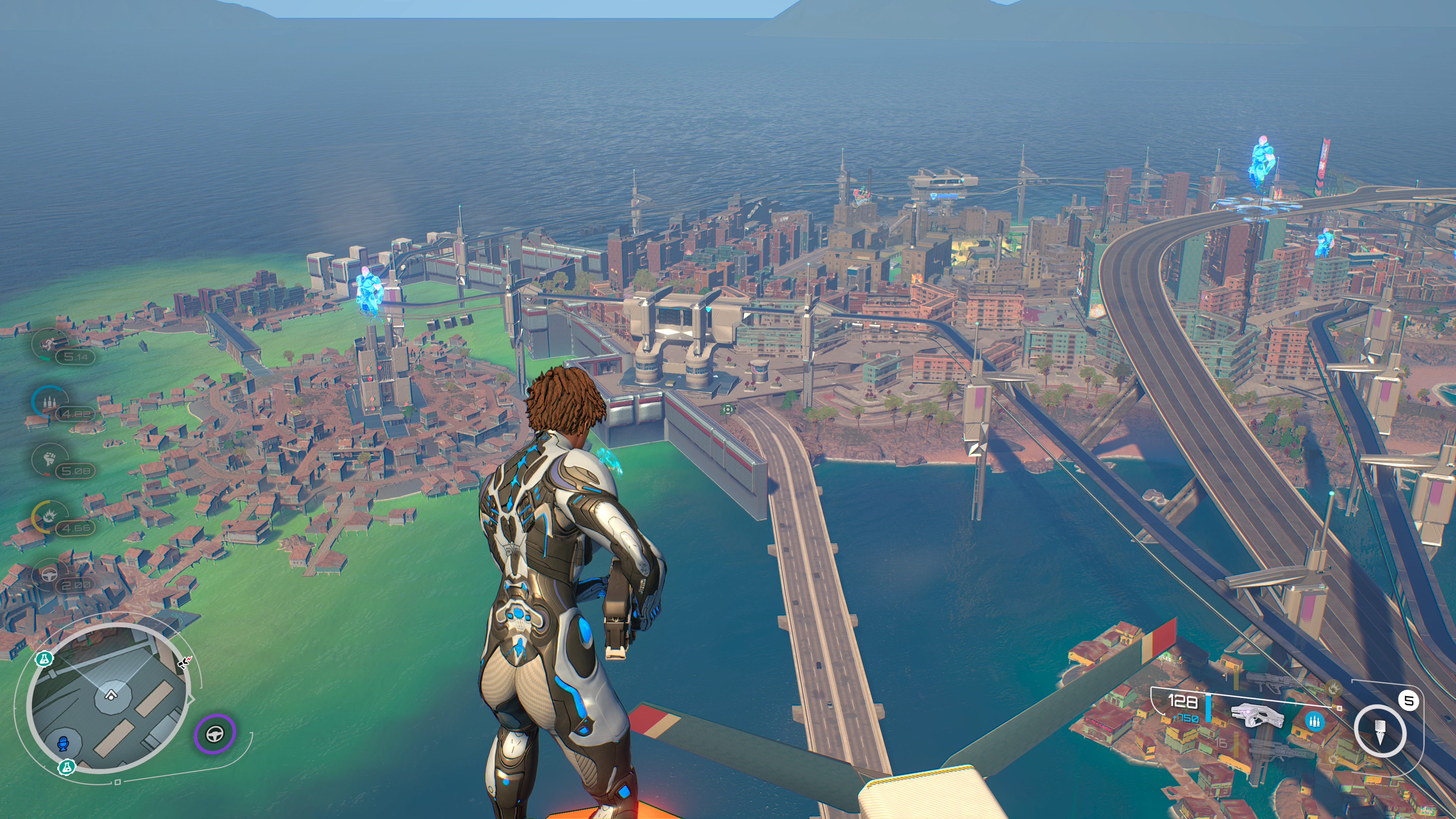 Crackdown 3 Review Half Baked Action With Tasty Triple Jumping Ars Technica