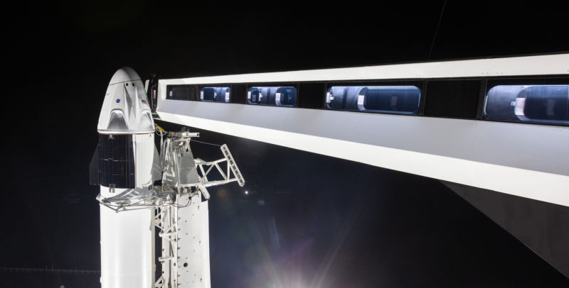 It's almost time for crewed flights on SpaceX's Dragon spacecraft.