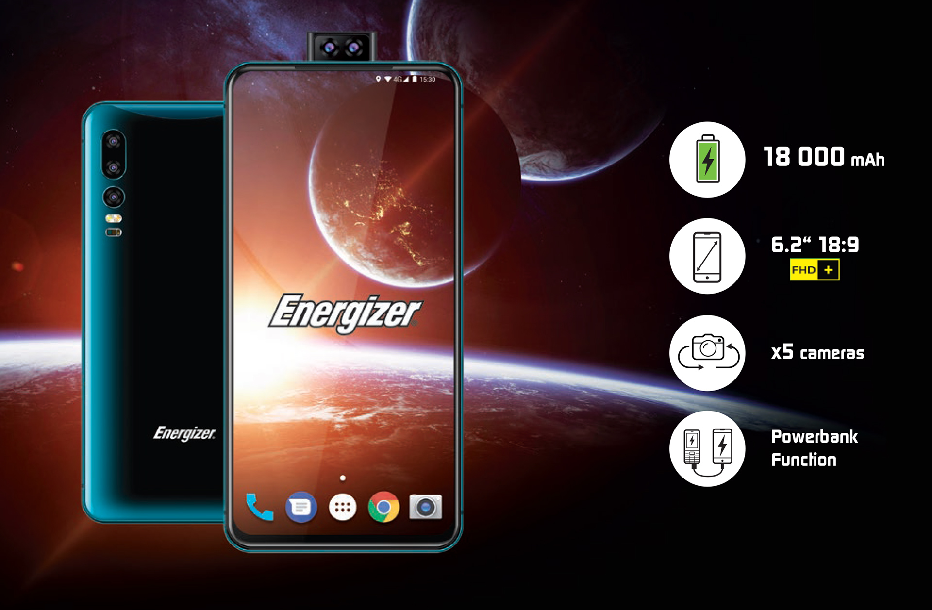 "Energizer's brick of a smartphone uses ""world's most"